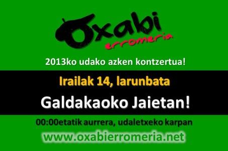 Oxabi Galdakaon